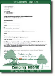 reservierung anfrage camping hegne