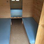 Camping Hegne Schlaf Häusle Innenansicht 02
